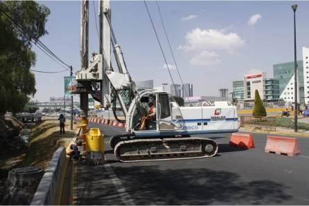 Alerta, Inhabilitan un carril de la vialidad en sentido Pachuca-México que da acceso a la plaza comercial Galerías Pachuca3