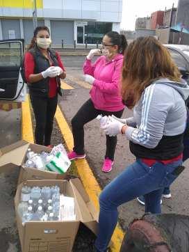 Autoridades de Zempoala llevan a cabo Programa de Desinfección en diversas calles en la zona de Fraccionamientos10