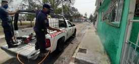 Continúa la sanitización de vialidades y espacios públicos en Tizayuca5