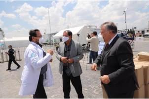 En medio de la pandemia, empresarios hidalguenses suman apoyos solidarios en favor del personal del sector salud
