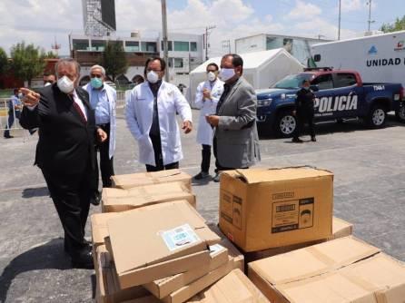 En medio de la pandemia, empresarios hidalguenses suman apoyos solidarios en favor del personal del sector salud1