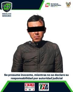 En Pachuca detienen a individuo por presunto robo a clínica