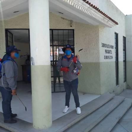 Se extiende jornada de sanitización a colonias de Mineral de la Reforma6