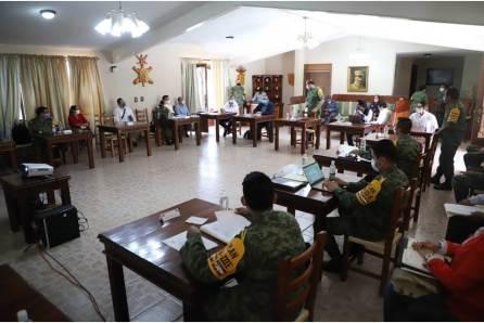 SSH Y SEDENA establecen lineamientos para operación de 4 hospitales de Hidalgo bajo Plan De Auxilio DN-III-4