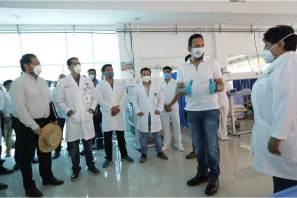 Supervisa Fayad Hospital de Respuesta Inmediata COVID-19 en Huejutla6