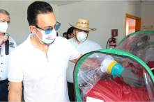 Supervisa Fayad Hospital de Respuesta Inmediata COVID-19 en Huejutla7