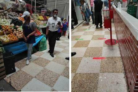 Tianguistas de Tizayuca adoptan nuevas medidas de prevención por COVID-19-4