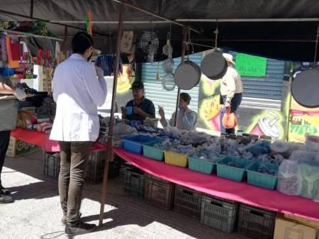 Tianguistas suspenderán actividades en Santiago Tulantepec