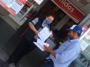 A partir del 30 de abril, autoridades notifican a comercios no esenciales su cierre durante emergencia sanitaria en Mineral de la Reforma