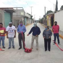 Alcalde de Tizayuca inaugura pavimentación hidráulica en la colonia Emiliano Zapata3