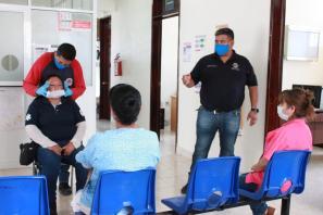 Arranca PC de mineral de la reforma, trabajos coordinados para establecer protocolos de actuación en casos Covid en centros de salud