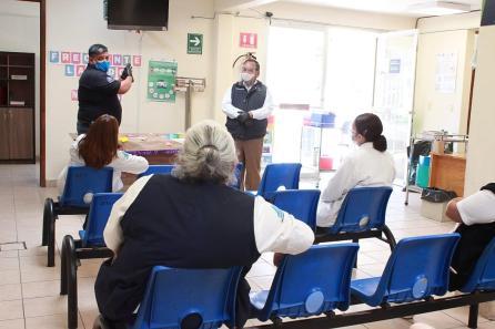 Arranca PC de mineral de la reforma, trabajos coordinados para establecer protocolos de actuación en casos Covid en centros de salud3
