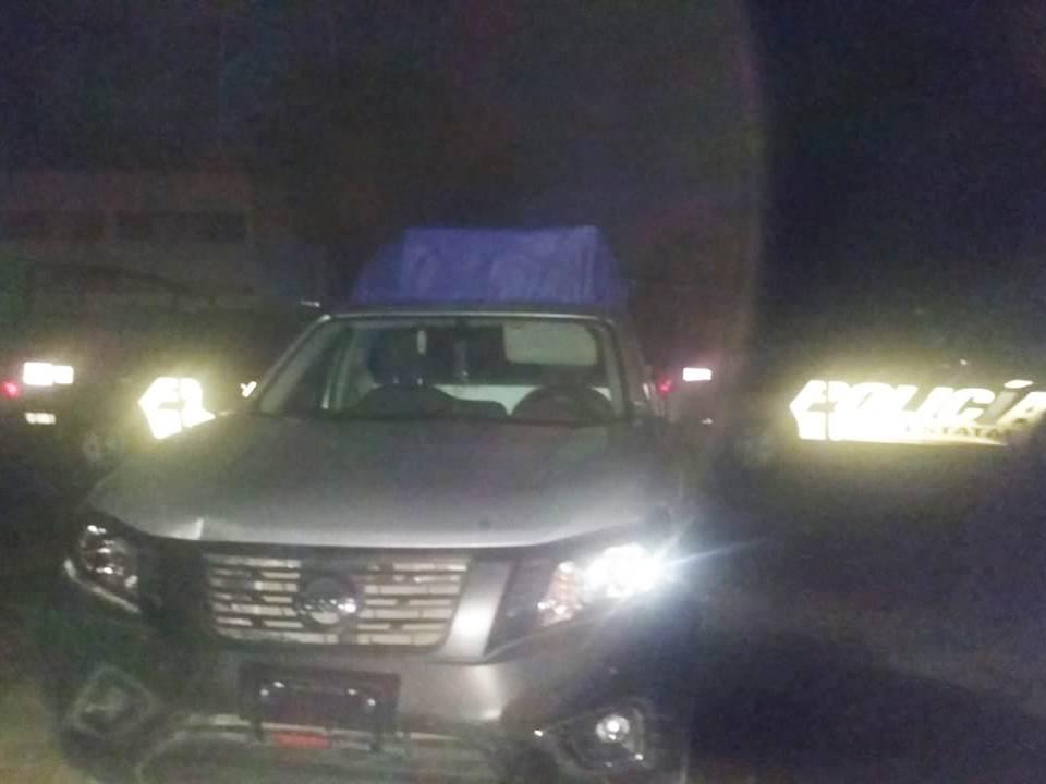 Asegura SSPH a 3 hombres por presunto robo en Huejutla