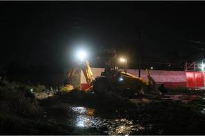 Atienden unidades de emergencia de Mineral de la Reforma, zonas afectadas tras fuerte precipitación pluvial