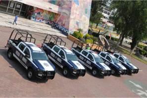 Ayuntamiento de Tizayuca adquiere cinco nuevas unidades para Seguridad Pública