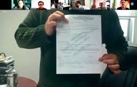 Comisión Unida de Organización y Capacitación Electoral presenta material y documentación electoral muestra para la renovación de 4