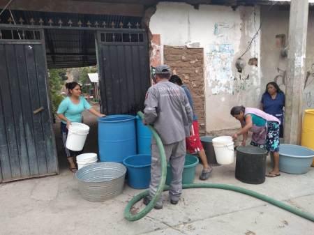 Conagua fortalece los operativos de abasto de agua potable