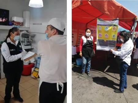 COPRISEH emprende operativo de vigilancia y fomento sanitario para el cierre de establecimientos no esenciales en Hidalgo