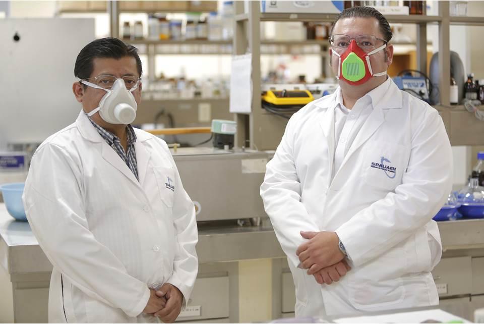 Crean cubrebocas con zeolita y jamaica para combatir COVID-19, informan investigadores de la UAEH