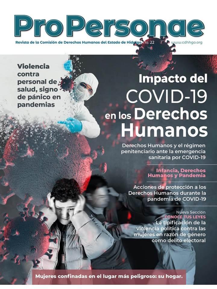Edita CDHEH revista sobre impacto del Covid-19 en los derechos humanos