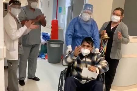 Egresa ISSSTE Hidalgo a 3 pacientes recuperados de COVID-19