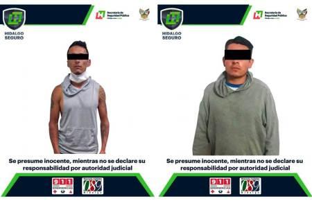 En operativos, detienen a dos hombres que tenían en posesión probable droga sintética