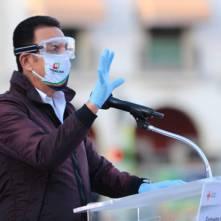 Entrega Omar Fayad ambulancias para diferentes regiones de Hidalgo5
