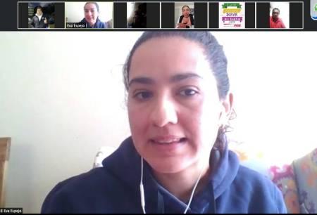 """Eva Espejo realiza capacitación """"Coaching deportivo1"""