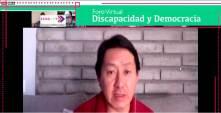 """IEEH y RENACEDI organizan Foro Virtual """"Discapacidad y Democracia"""""""