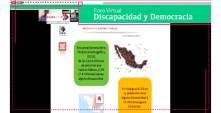 """IEEH y RENACEDI organizan Foro Virtual """"Discapacidad y Democracia""""5"""