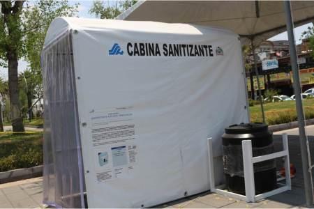 Instala Ayuntamiento de Tizayuca Túnel sanitizante2