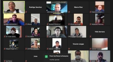Iván Bautista realiza capacitación virtual en beneficio del deporte hidalguense2
