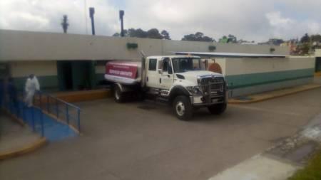 La Conagua Hidalgo trabaja para dar atención a instituciones de salud y zonas vulnerables durante contingencia sanitaria