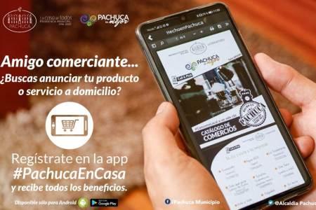 Lanzan app en apoyo al comercio local en Pachuca