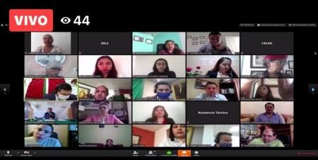Llevan a cabo sesión ordinaria no presencial de la LXIV Legislatura de Hidalgo