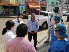 Omar Fayad Meneses instruye supervisión a Centros de Salud en Tizayuca