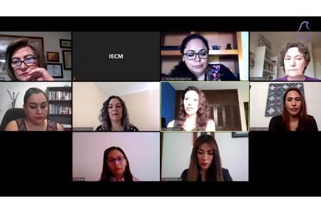 """Participa IEEH en Quinto Panel Virtual, """"Los observatorios de Participación Política de las Mujeres"""""""