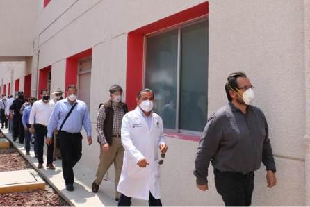 Realizan recorrido en Hospital General de Tula para reforzar medidas de atención y seguridad3