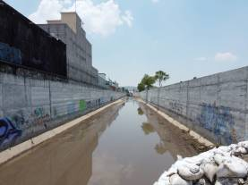 SOPOT avanza en el desazolve del dren pluvial El Venado
