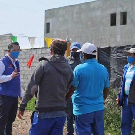 Supervisa alcalde Raúl Camacho limpieza de drenes en Mineral de la Reforma3