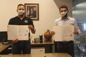 Autoridades de Zempoala y de la Secretaría de Seguridad Pública del Estado de Hidalgo firman Acuerdo de Colaboración entre el C5I y el C2