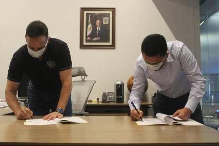 Autoridades de Zempoala y de la Secretaría de Seguridad Pública del Estado de Hidalgo firman Acuerdo de Colaboración entre el C5I y el C2_2
