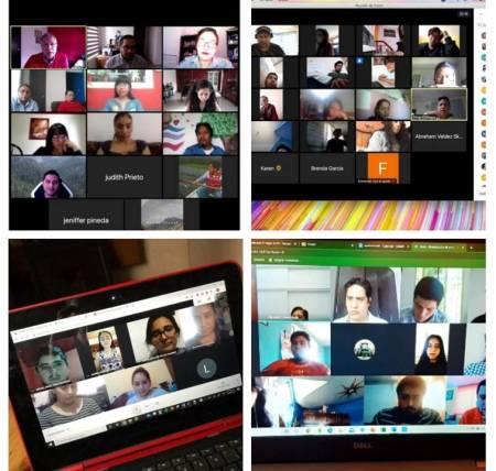 Comparte docente de UAEH su experiencia en la educación a distancia