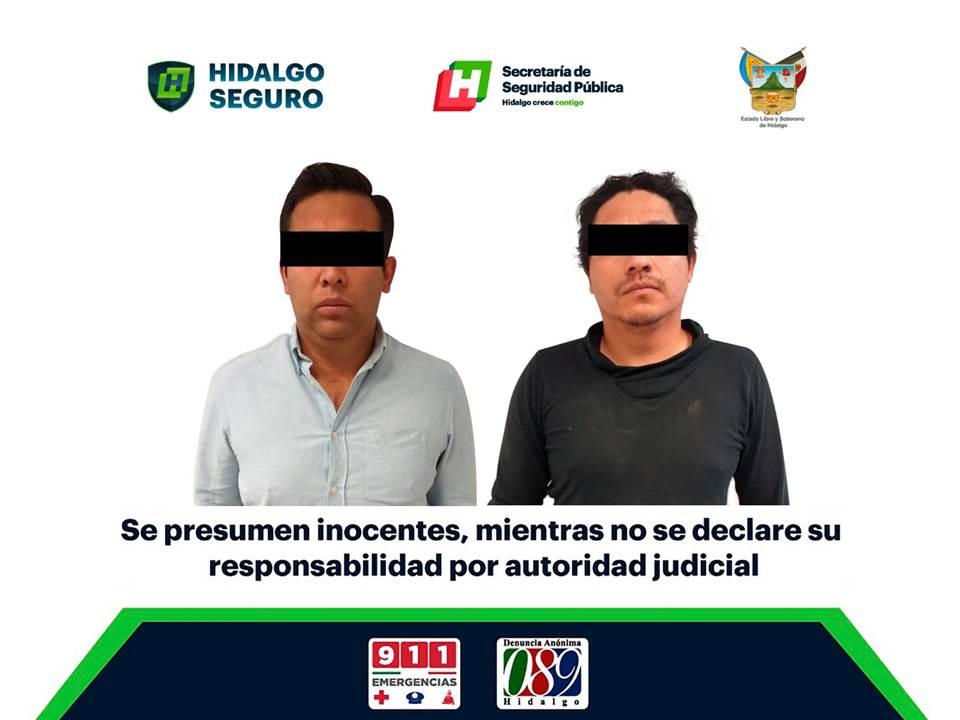 Contra violencia y delincuencia, asegura SSPH 2 personas armadas en El Arenal