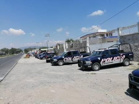 Detecta SSPH predio desmantelamiento de tractocamiones en Tula