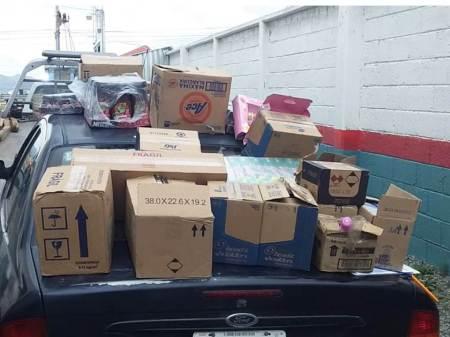 Dos detenidos por presunto robo a negocio registrado en la zona metropolitana de Pachuca