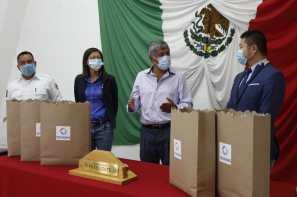 Empresa China realiza importante donación de mascarillas al Ayuntamiento de Tizayuca