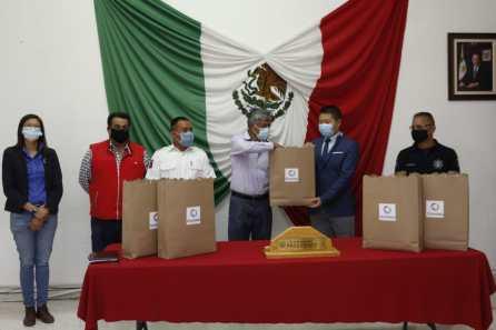 Empresa China realiza importante donación de mascarillas al Ayuntamiento de Tizayuca4