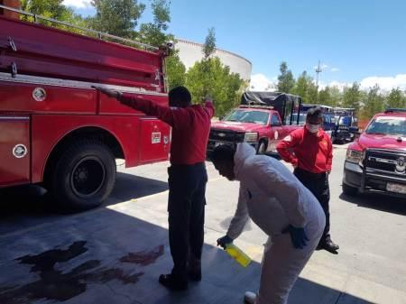 En cuarentena preventiva personal de Bomberos de la Subestación Juan C. Doria de Pachuca2