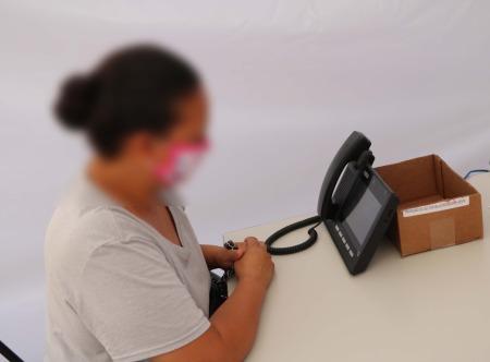 Implementa IMSS videollamadas para comunicar a los pacientes con Covid-19 con sus familiares